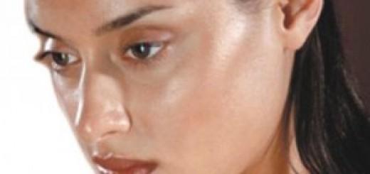 Очистка жирной кожи лица в 25-35 лет