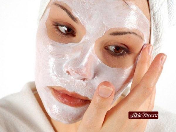маски для лица из кефира и молока