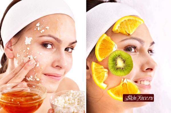Домашние маски для комбинированной и проблемной кожи лица